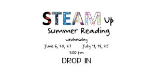 STEAM Up Summer Reading